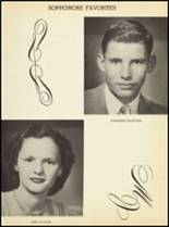 1952 Clyde High School Yearbook Page 50 & 51
