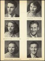 1952 Clyde High School Yearbook Page 54 & 55