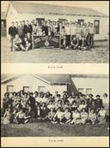 1952 Clyde High School Yearbook Page 58 & 59