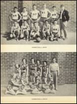 1952 Clyde High School Yearbook Page 66 & 67