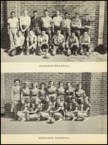 1952 Clyde High School Yearbook Page 68 & 69