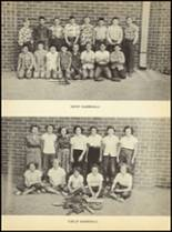 1952 Clyde High School Yearbook Page 92 & 93