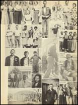 1952 Clyde High School Yearbook Page 104 & 105