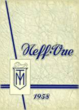 1958 Yearbook Manheim Township High School