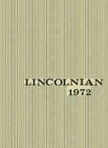 1972 Yearbook Lincoln High School