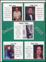 2003 Pleasant View High School Yearbook Page 12 & 13