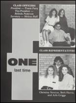 1991 Cushing High School Yearbook Page 10 & 11