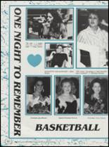 1991 Cushing High School Yearbook Page 84 & 85