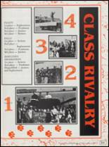 1991 Cushing High School Yearbook Page 86 & 87