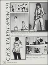 1991 Cushing High School Yearbook Page 132 & 133