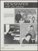 1991 Cushing High School Yearbook Page 146 & 147