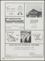1991 Cushing High School Yearbook Page 166 & 167