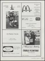 1991 Cushing High School Yearbook Page 168 & 169