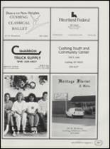 1991 Cushing High School Yearbook Page 190 & 191