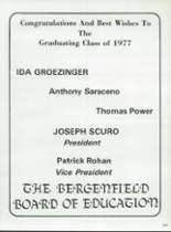 1977 Bergenfield High School Yearbook Page 252 & 253
