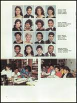 1986 Thomas Edison High School Yearbook Page 20 & 21