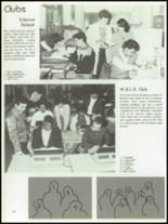 1986 Thomas Edison High School Yearbook Page 112 & 113