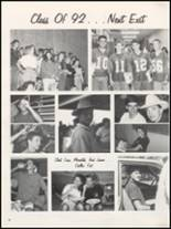 1991 Teague High School Yearbook Page 44 & 45