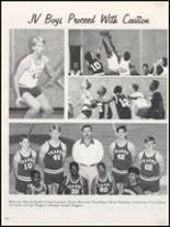 1991 Teague High School Yearbook Page 108 & 109