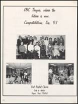 1991 Teague High School Yearbook Page 178 & 179