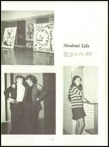 1971 Shelby High School Yearbook Page 16 & 17