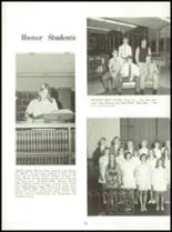 1971 Shelby High School Yearbook Page 30 & 31
