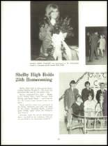 1971 Shelby High School Yearbook Page 34 & 35