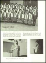 1971 Shelby High School Yearbook Page 54 & 55