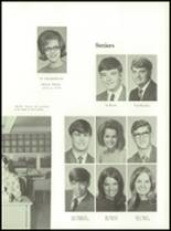 1971 Shelby High School Yearbook Page 112 & 113
