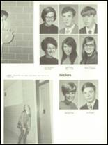 1971 Shelby High School Yearbook Page 116 & 117