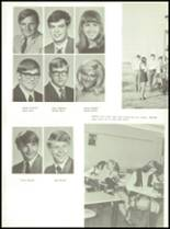 1971 Shelby High School Yearbook Page 122 & 123