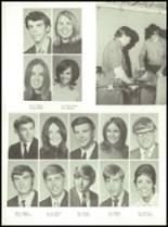 1971 Shelby High School Yearbook Page 124 & 125