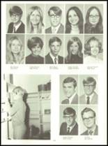 1971 Shelby High School Yearbook Page 126 & 127