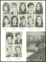 1971 Shelby High School Yearbook Page 128 & 129