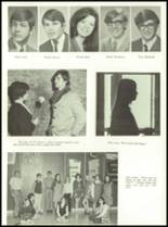 1971 Shelby High School Yearbook Page 132 & 133