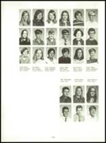 1971 Shelby High School Yearbook Page 142 & 143