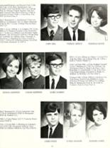 1969 Woodlan High School Yearbook Page 20 & 21