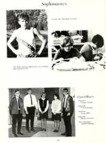 1969 Woodlan High School Yearbook Page 36 & 37