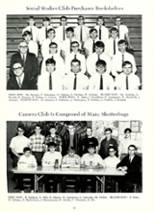 1969 Woodlan High School Yearbook Page 56 & 57