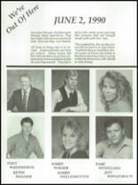 1990 Lake County High School Yearbook Page 54 & 55