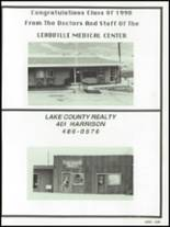 1990 Lake County High School Yearbook Page 132 & 133