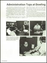 1983 Dowling High School Yearbook Page 84 & 85