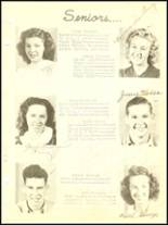 1946 Dewar High School Yearbook Page 10 & 11