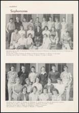 1953 White Swan High School Yearbook Page 20 & 21