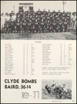 1966 Clyde High School Yearbook Page 42 & 43