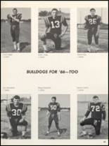 1966 Clyde High School Yearbook Page 46 & 47