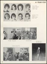 1966 Clyde High School Yearbook Page 102 & 103