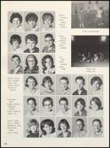 1966 Clyde High School Yearbook Page 104 & 105