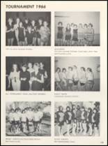 1966 Clyde High School Yearbook Page 118 & 119