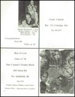 1978 Blackstone-Millville Regional High School Yearbook Page 84 & 85